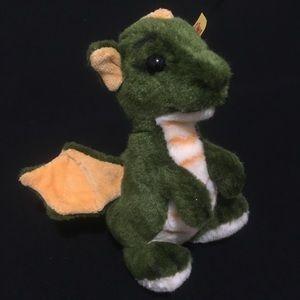 Cuddliest Steiff Dragon *RAWR*original Knop IM Ohr